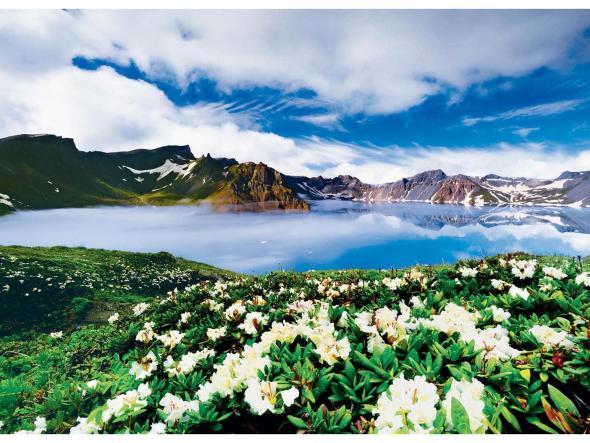 w2白山黑水:吉林满族风情园长白山天池镜泊湖双卧五日游