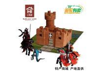 小砖家建筑玩具黑暗城堡